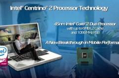 Intel Centrino 2 es liberado en el mercado