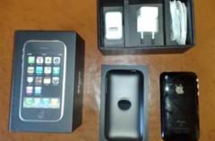 iPhone fuera de su caja