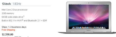 nuevas macbook air