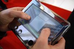 Toshiba reveló su concepto de portátil con pantalla táctil