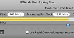 ZDNet Reloj 1.0 Pro, herramienta para hacer overcloking