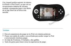 ¿Belkin Joypod será un control para juegos diseñado para el iPhone?