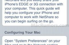Comparte internet del iPhone con tu Mac, NetShare