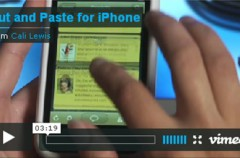 Apple inhabilita las funcuiones copiar y pegar ofrecidas por  Open Clip