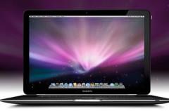 Recreación del nuevo MacBook Pro en negro