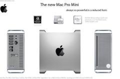 ¿Mac Pro Mini?