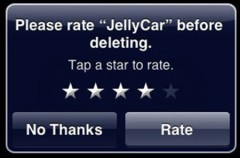 Califica las aplicaciones de la AppStore desde el iPhone