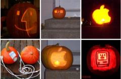 Fanatismo Apple en Halloween