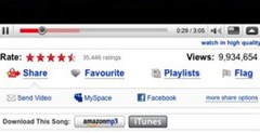 You Tube se enlaza a iTunes y Amazon