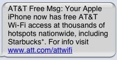 AT&T ofrece conexión a internet Wi Fi gratuita