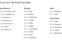 Apple anuncia Tour Mundial para exponer la tecnología del iPhone