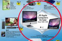 Best Buy disminuirá el precio de los Mac por cuatro días