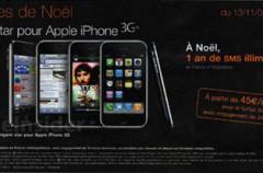 iPhone 3G a 99 euros en Francia