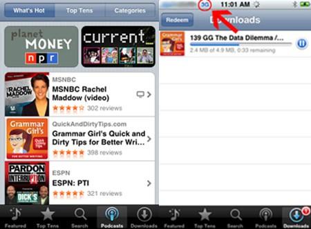 ¿iTunes estará disponible desde el iPhone?