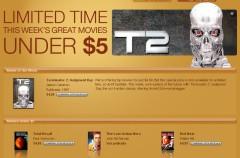 Nuevo servicio de iTunes: película y álbum de la semana