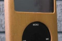 Carcasas para el iPod de madera