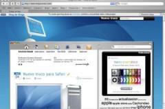 Otro truco para Safari: Cambiar el diseño de tu web