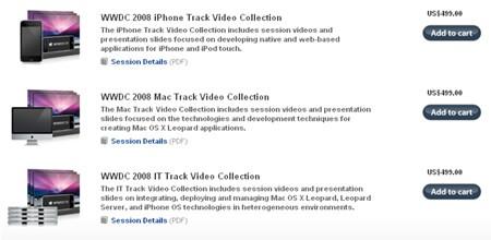 WWDC 2008 a la venta