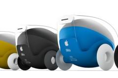 Coche robótico inspirado en la manzana