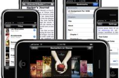 El iPhone con 40,000 libros dentro