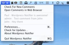 WordPress lanza Notificador de Comentarios para OS X