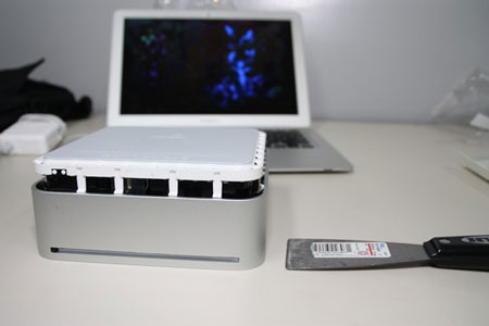 Mac Mini por dentro