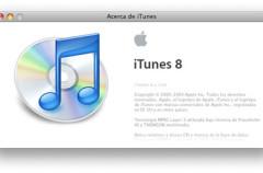 iTunes 8.1 y FrontRow 2.1.7