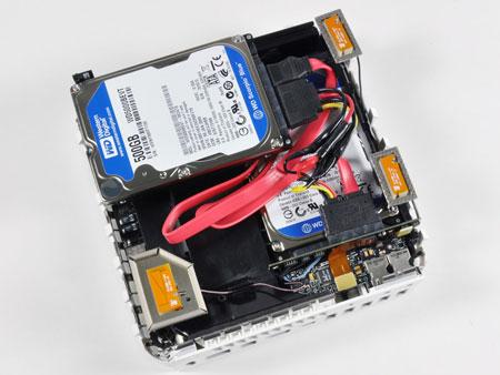 Mac Mini con dos discos duros