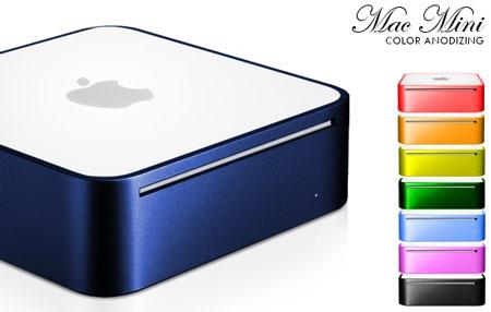 Dale un toque de color a tu nuevo Mac Mini