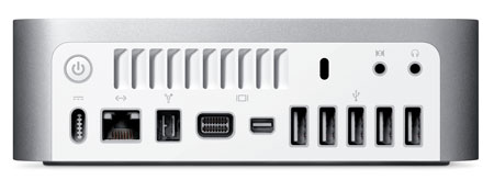 Mac Mini Trasera 2009