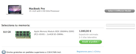 8GB MacBook Pro