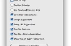 Safari 4 Modifier: Configurar Safari 4 más fácil que nunca