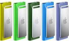 El iPod Shuffle se viste de colores