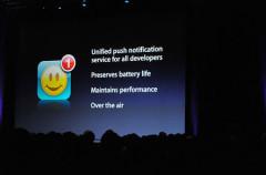 Los servidores Push correrán a cargo de los desarrolladores
