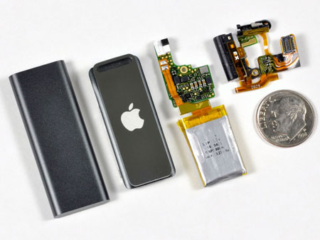 iPod Shuffle Desmontado