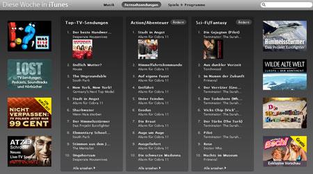 iTunes Store Peliculas