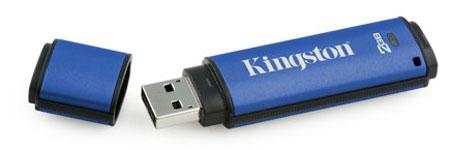 Memoria Kingston Encriptada por hardware
