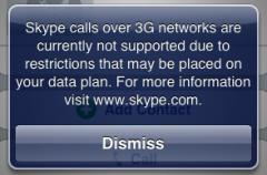 Importante: Skype dejaría de funcionar en 3G
