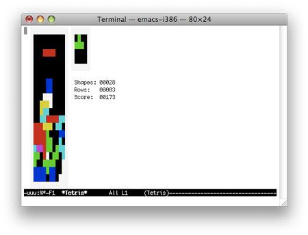 Tetris Terminal