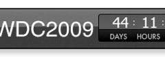 Widget para la cuenta atrás de la WWDC 2009