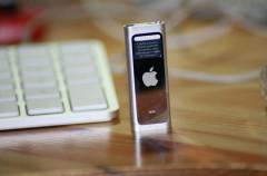 Actualización de firmware para el iPod Shuffle