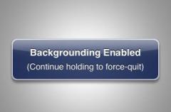 Aplicaciones en segunda plano en el iPhone