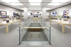 La Apple Store de Zurich abre sus puertas