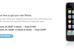 Apple vuelve a permitir la compra del iPhone 3G desde la tienda online