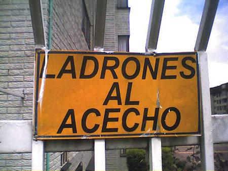 Ladrones al Acecho