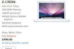 Actualización del MacBook de plástico