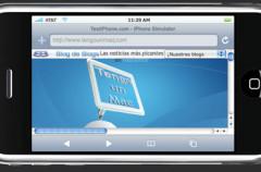 ¿Cómo se ve tu web en un iPhone?