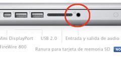 El nuevo MacBook Pro de 13 pulgadas sólo dispone de un conector de audio