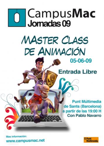 CampusMac organiza una jornada Master Class de animación