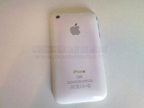 Manchas iPhone 3GS Blanco